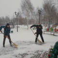 Снежный десант РСО высадился в Шумихинском районе